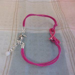 Avon Breast Cancer Crusade Hot Pink Bracelet
